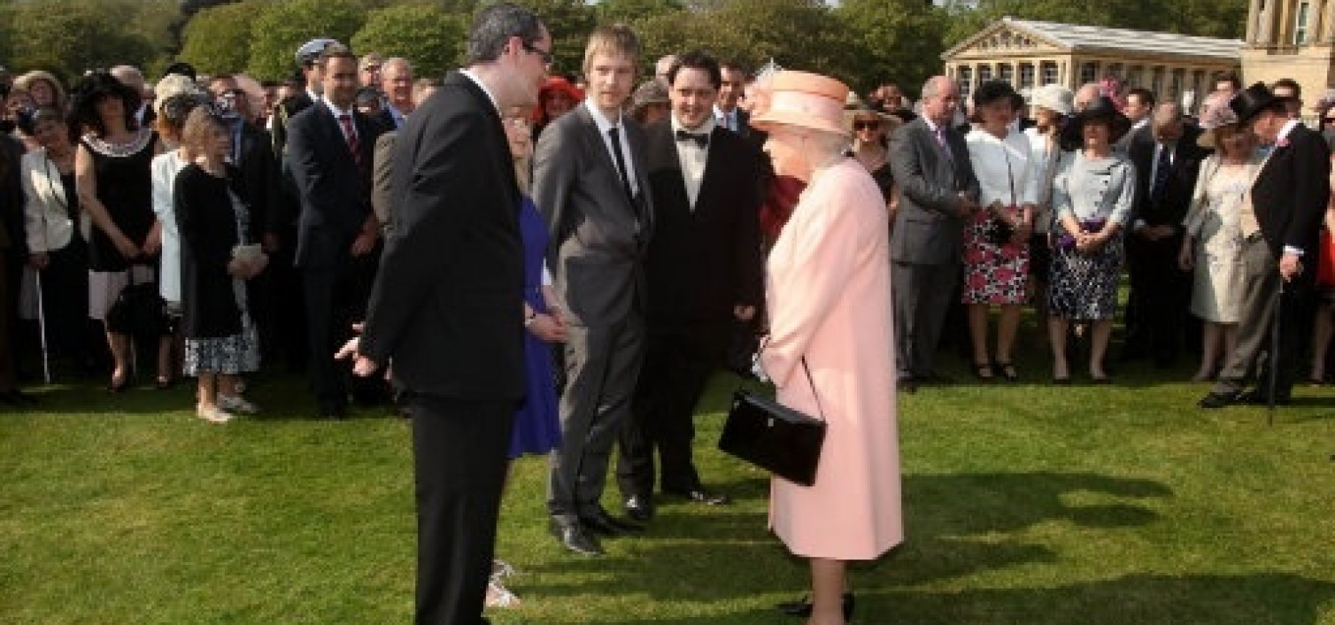 AUTISM CHARITY RECEIVES THE QUEEN'S AWARD FOR VOLUNTARY SERVICE DURING HER DIAMOND JUBILEE YEAR  AND MEETS HER MAJESTY AT ROYAL GARDEN PARTY