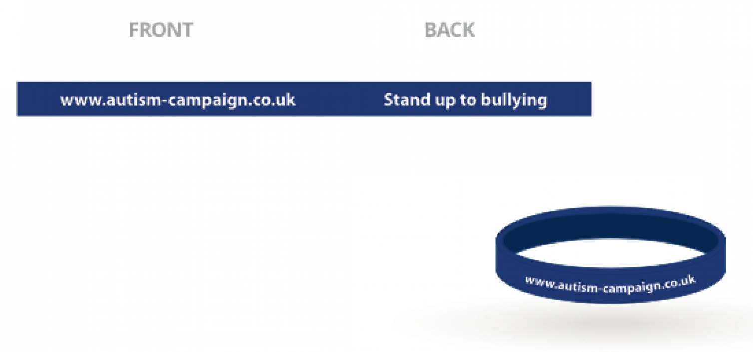 Im fighting for Anti bullying laws show your support with a wristband