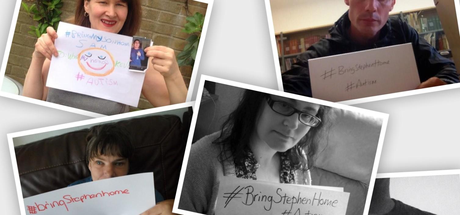 #bringstephenhome campaign