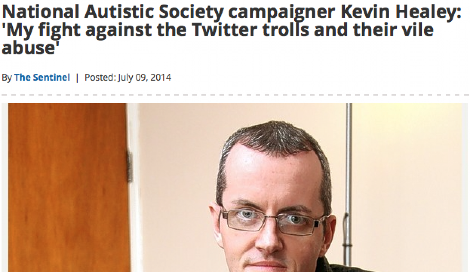 My campaign against twitter features in local press