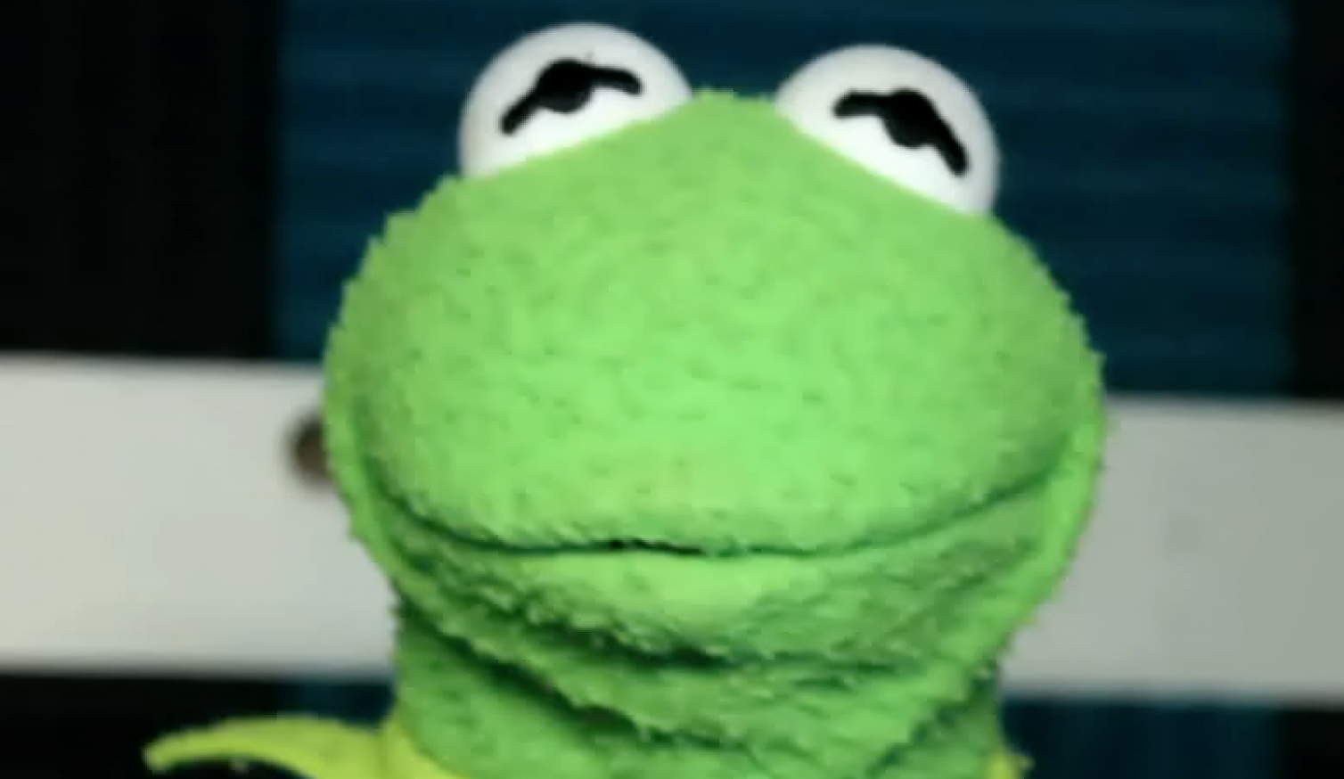Kermit sends twitter a video message…