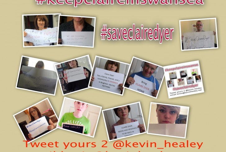 Campaigning for Claire Dyer #saveclairedyer