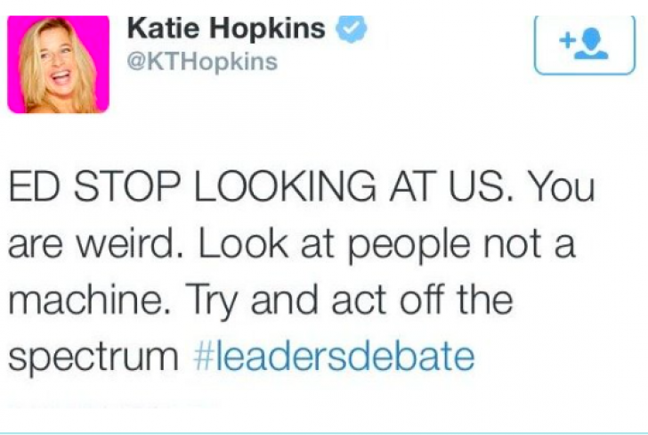 Thousands ask Katie Hopkins for an apology to the Autism Community