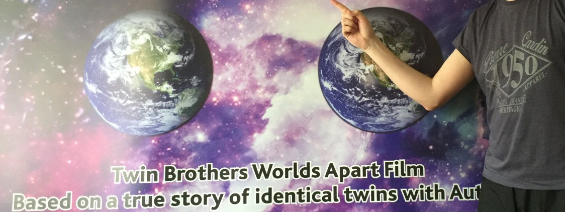Twin Brothers Worlds Apart Auditions a huge Sucess