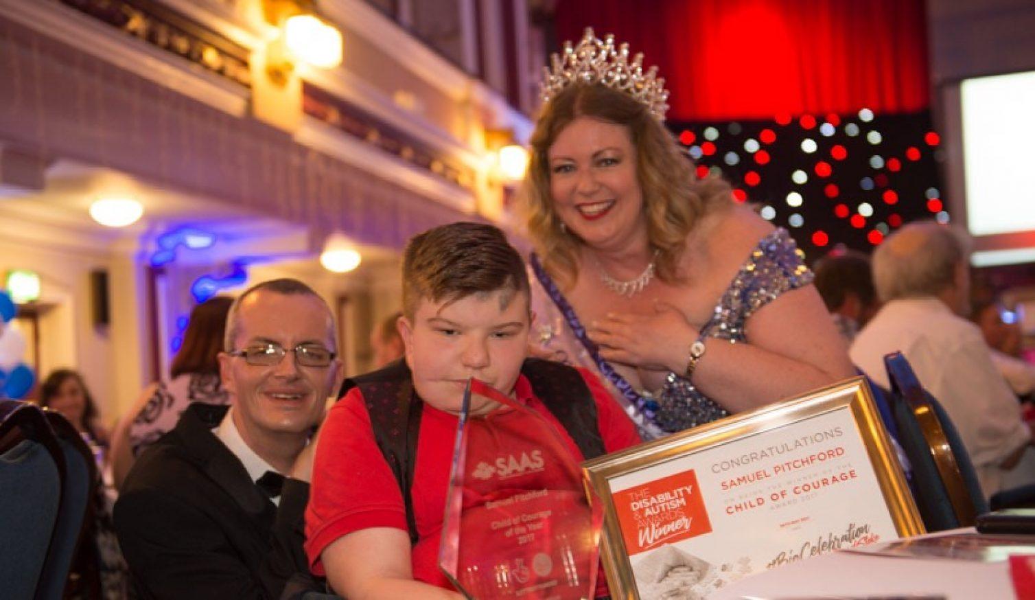 An amazing night of celebration the Disability Autism awards