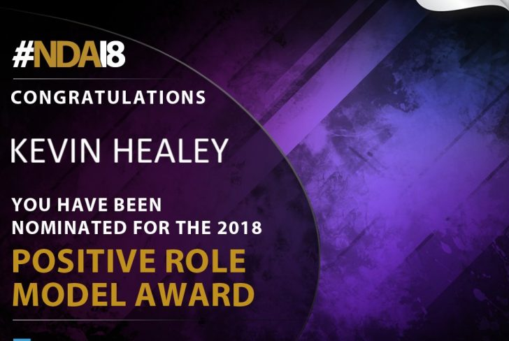Nominated for Positive Role Model